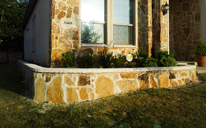Enchanting How To Decorate A Concrete Retaining Wall Pattern - Wall ...